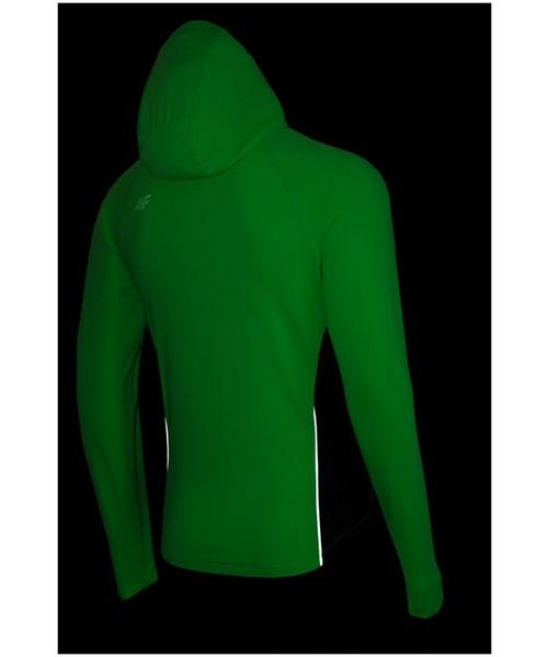 bluza męska 4F [T4Z16 BLMF001] Bluza treningowa męska BLMF001 neon zielony